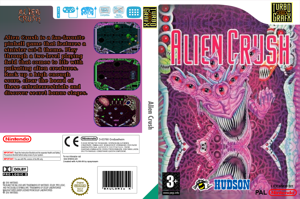 Alien Crush Wii coverfullHQ (PA7P)
