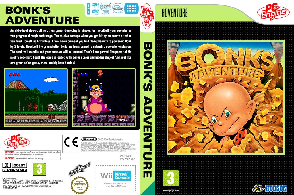 Bonk's Adventure Wii coverfullHQ (PABP)