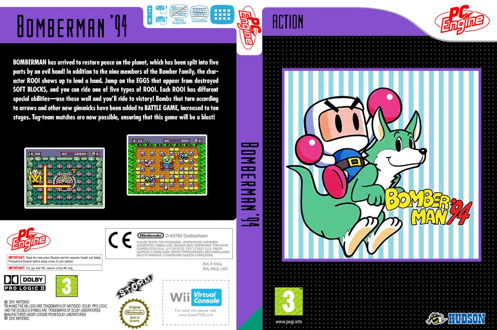 Bomberman'94 Wii coverfullHQ (PAGL)