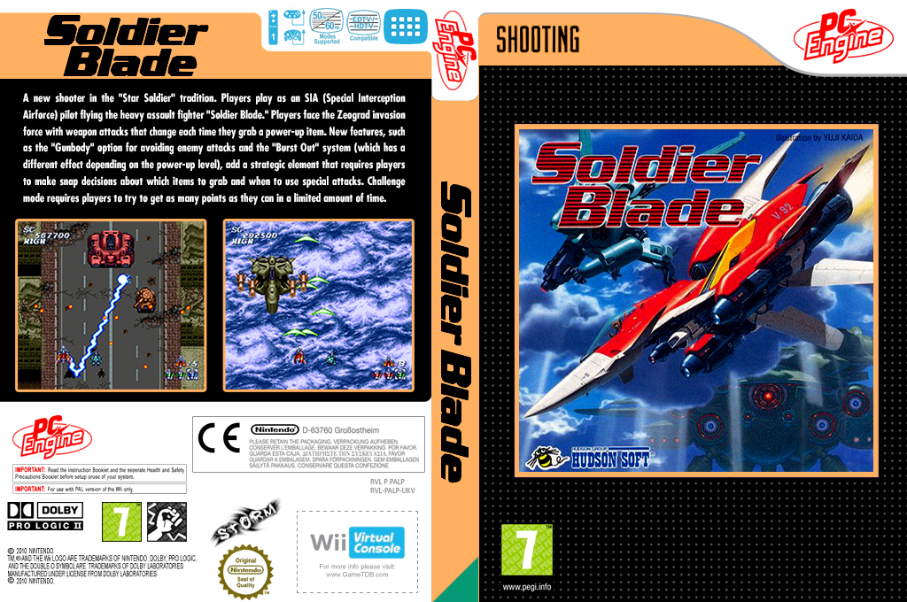 Soldier Blade Wii coverfullHQ (PALP)