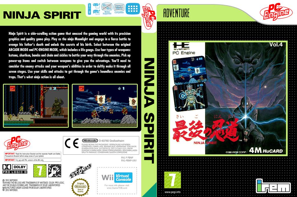 Ninja Spirit Wii coverfullHQ (PBNP)