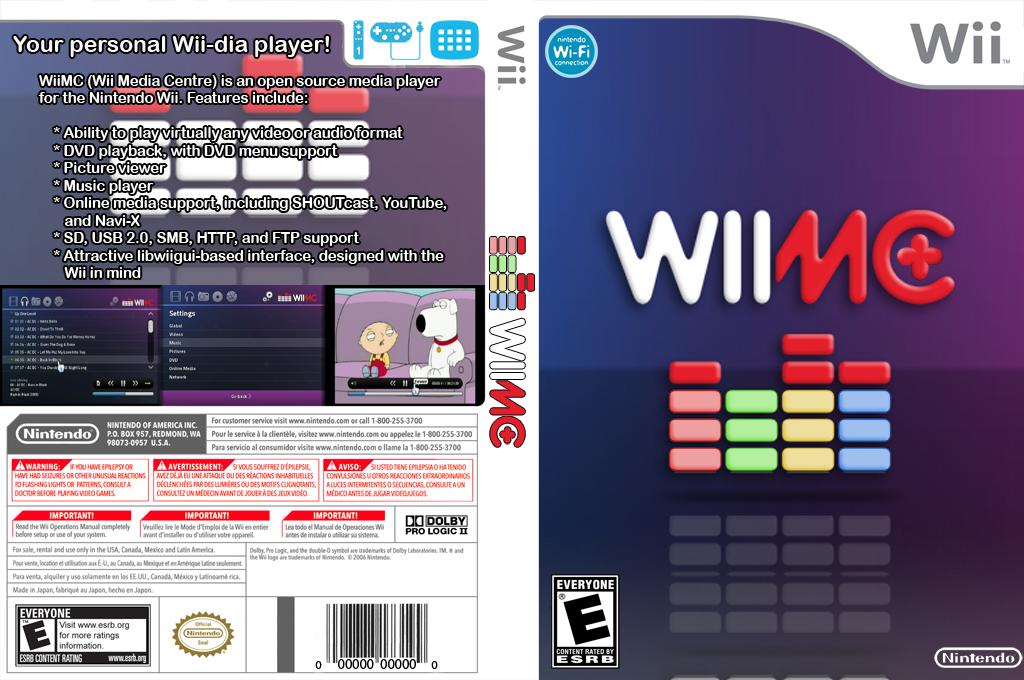 WiiMC+ Wii coverfullHQ (PLUS)