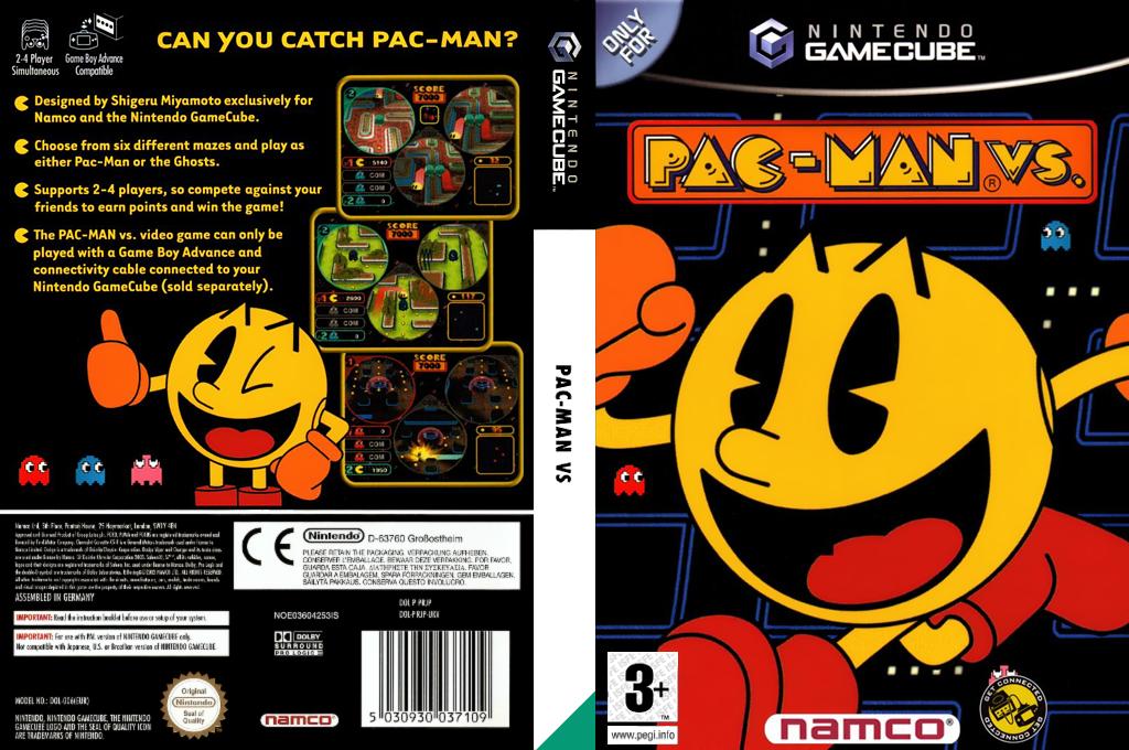 Pac-Man vs. Wii coverfullHQ (PRJP01)