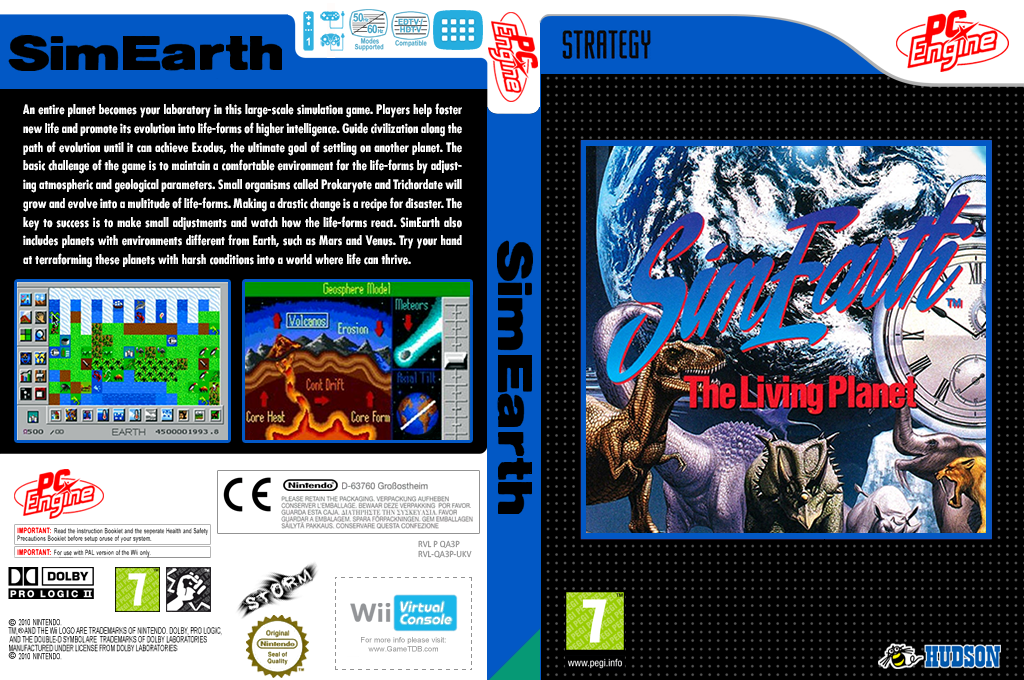 SimEarth: The Living Planet Wii coverfullHQ (QA3P)