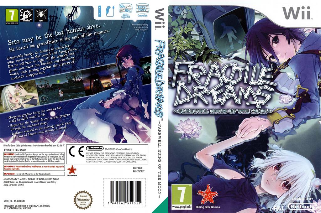 Fragile Dreams: Farewell Ruins of the Moon Wii coverfullHQ (R2GP99)