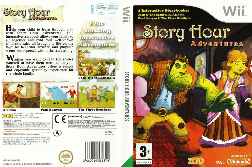 Story Hour: Adventures Wii coverfullHQ (R3AP7J)
