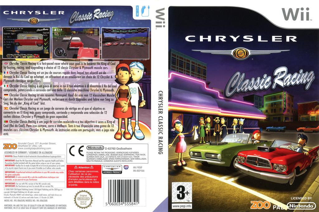 Chrysler Classic Racing Wii coverfullHQ (R3CP7J)