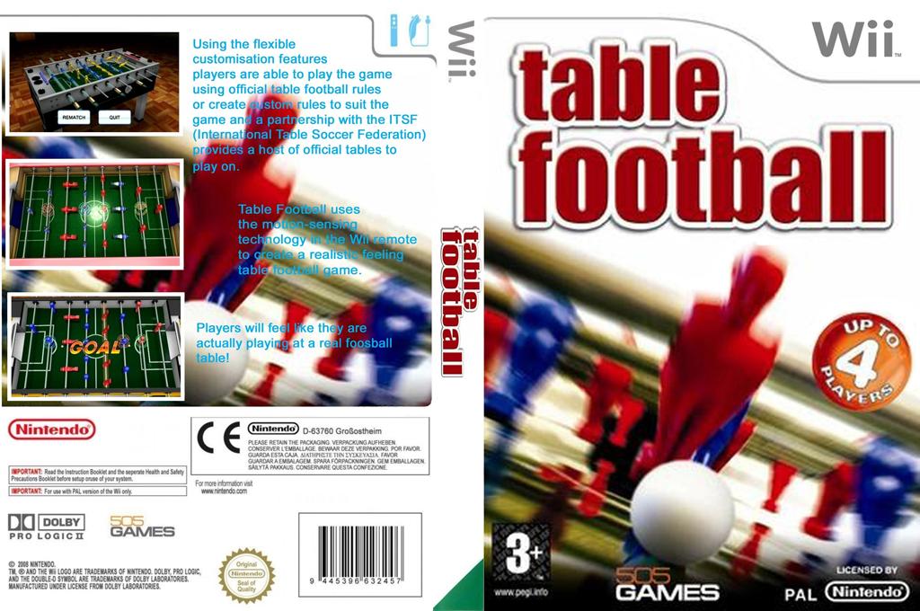 Table Football Wii coverfullHQ (R4BPGT)