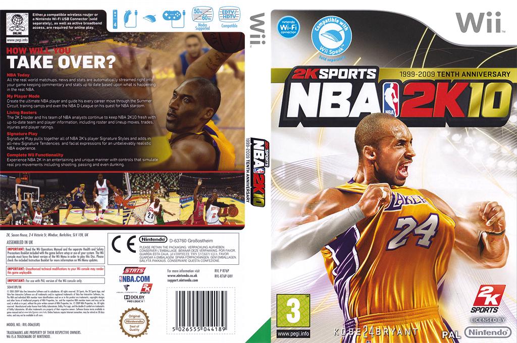 NBA 2K10 Wii coverfullHQ (R76P54)