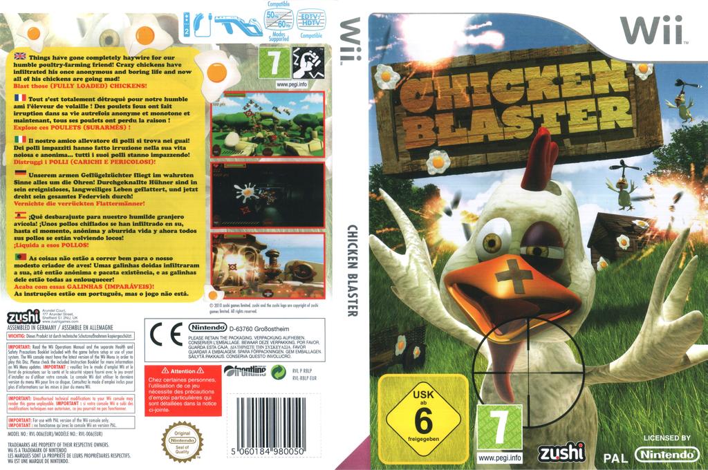 Chicken Blaster Wii coverfullHQ (R8LP7J)