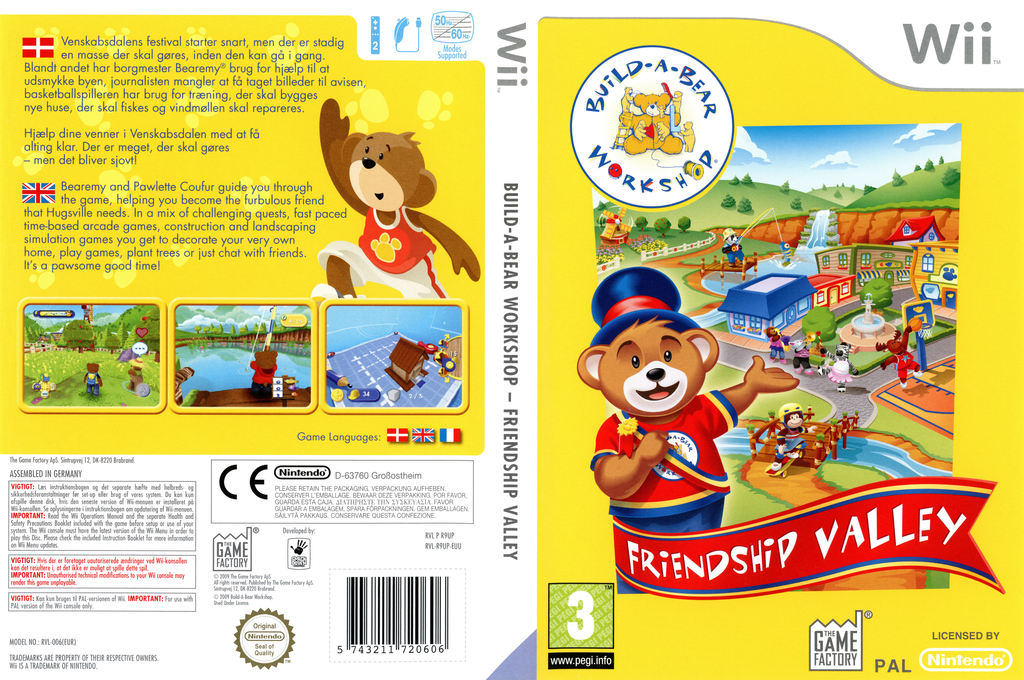 Build-A-Bear Workshop: Friendship Valley Wii coverfullHQ (R9UPGY)