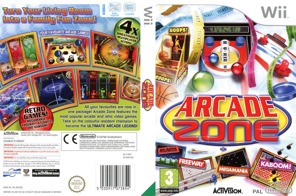 Arcade Zone Wii coverfullHQ (R9XP52)