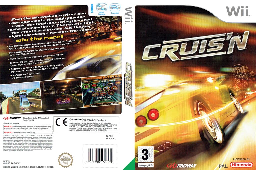 Cruis'n Wii coverfullHQ (RCRP5D)