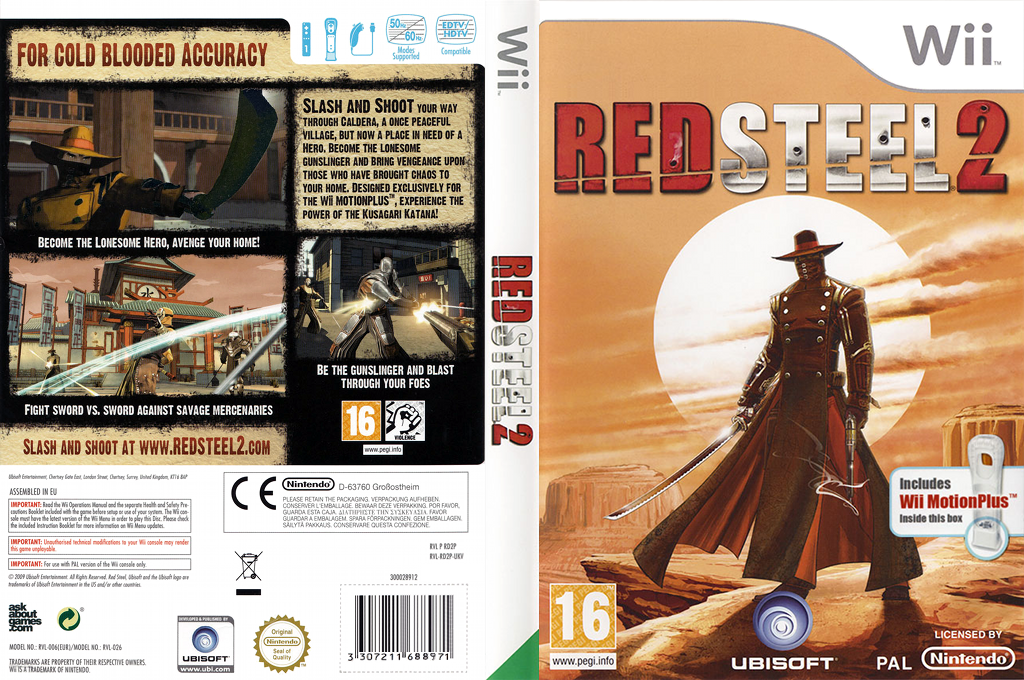 Red Steel 2 Wii coverfullHQ (RD2X41)