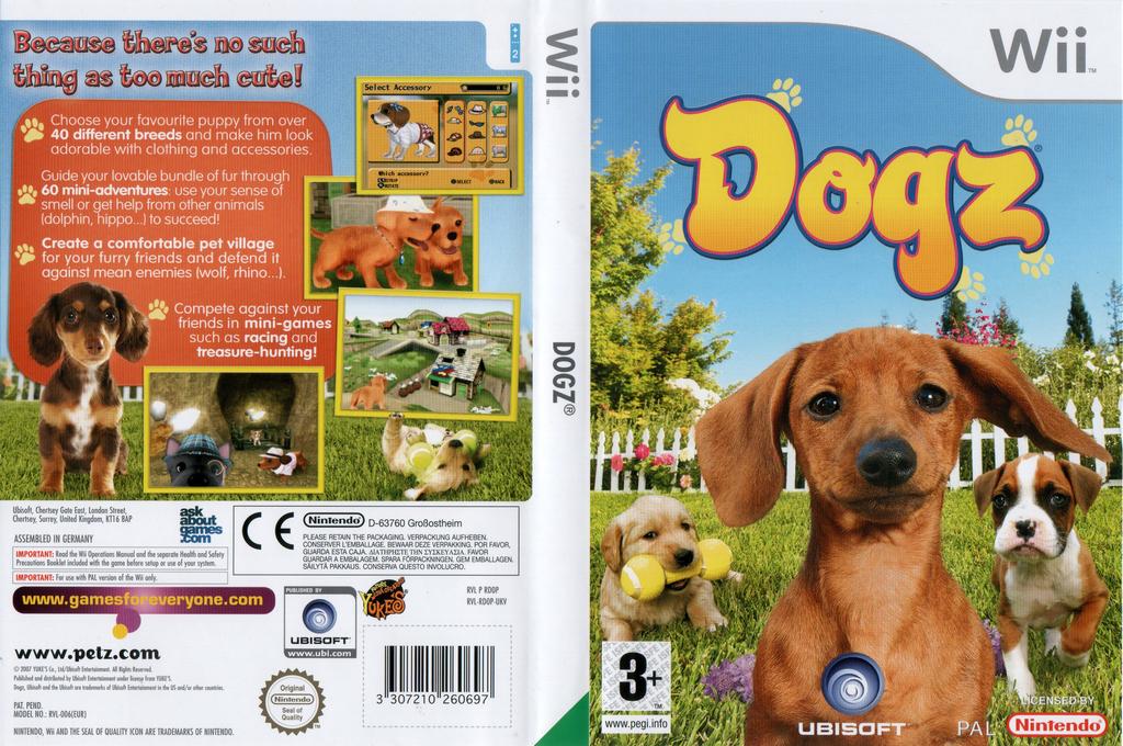 Dogz Wii coverfullHQ (RDOX41)