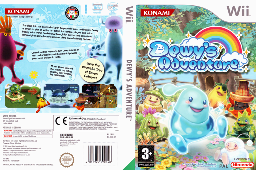 Dewy's Adventure Wii coverfullHQ (RDRPA4)