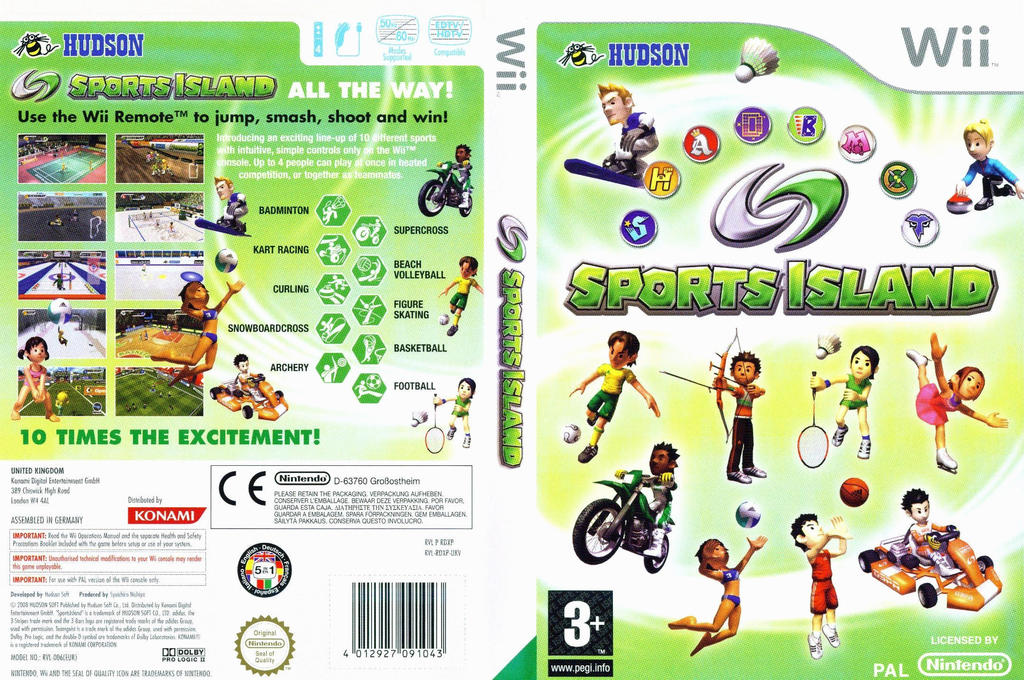 Sports Island Wii coverfullHQ (RDXP18)