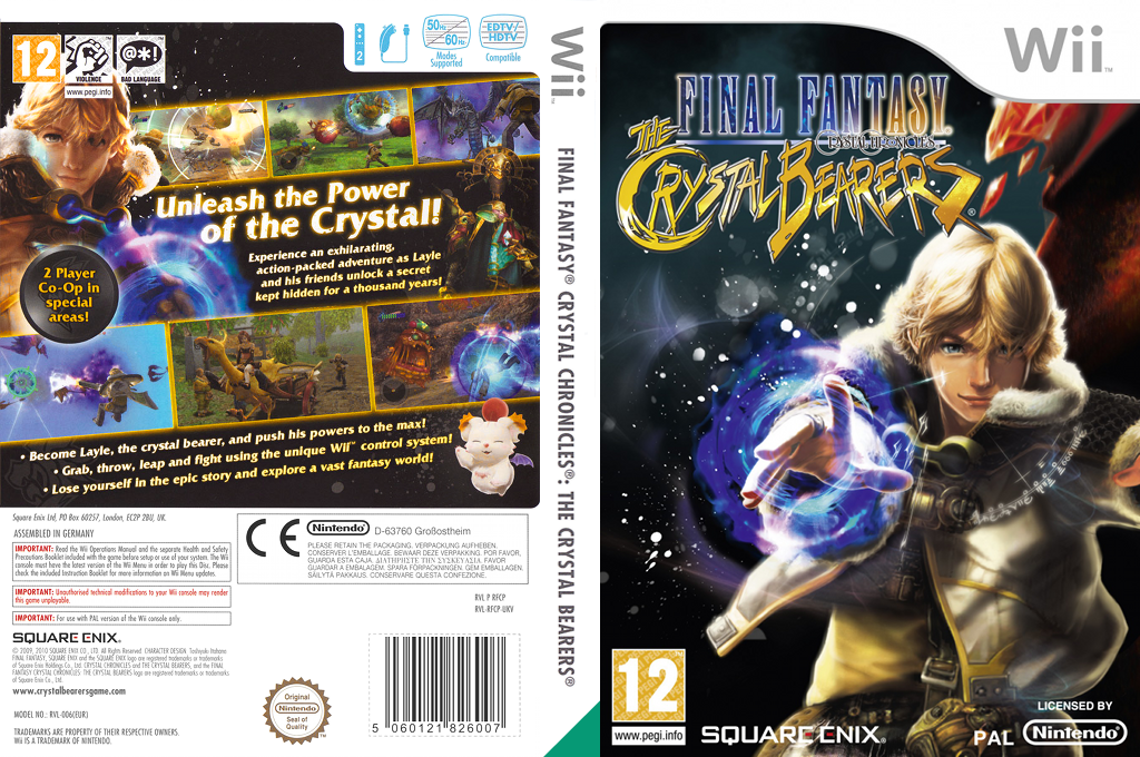 Final Fantasy Crystal Chronicles: The Crystal Bearers Wii coverfullHQ (RFCPGD)