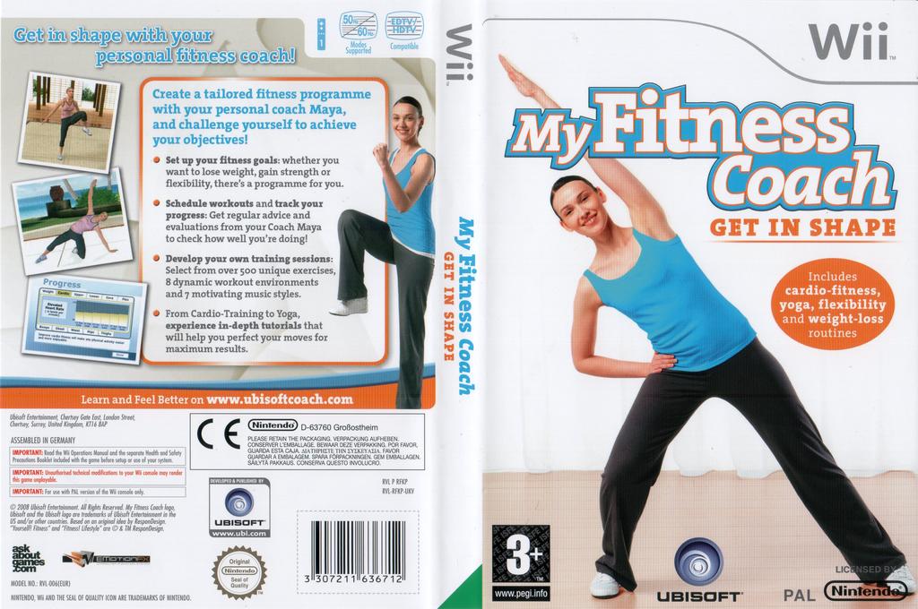 My Fitness Coach: Get In Shape Wii coverfullHQ (RFKX41)