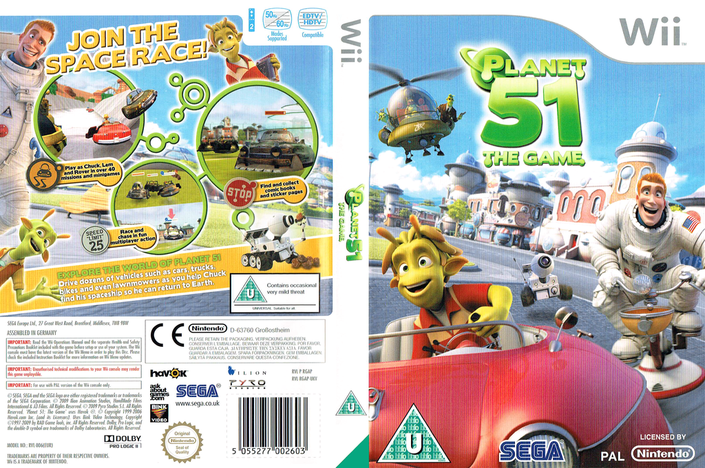 Planet 51: The Game Wii coverfullHQ (RGAP8P)
