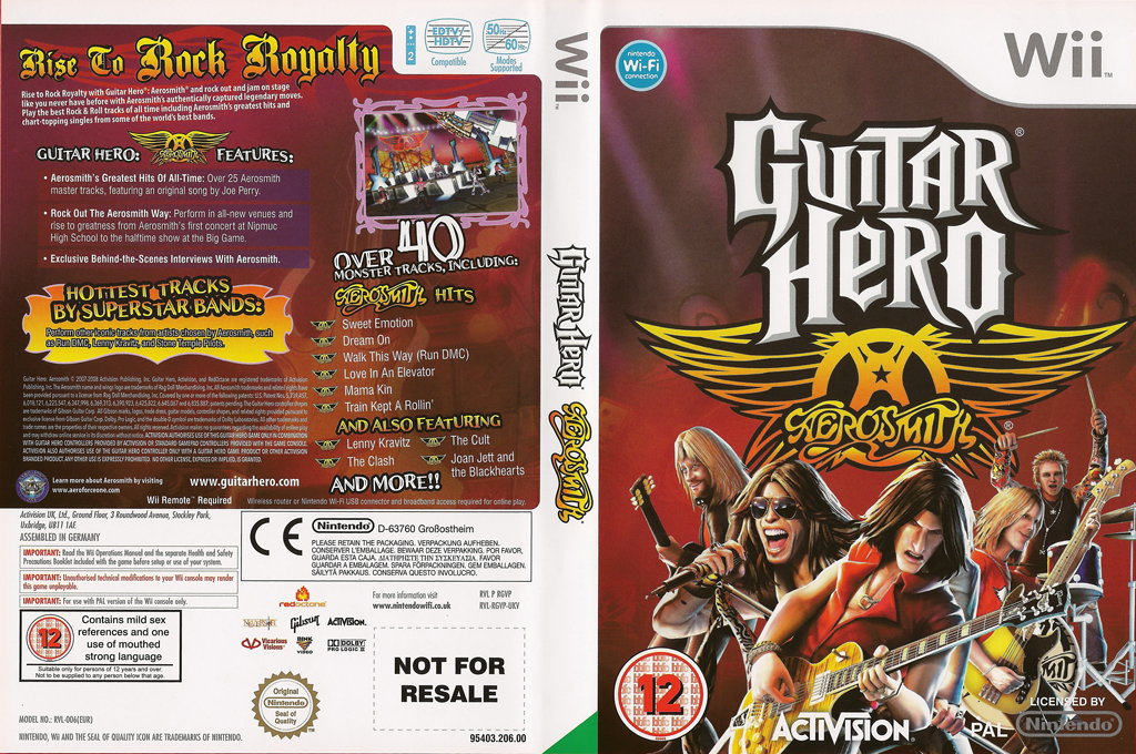 Guitar Hero: Aerosmith Wii coverfullHQ (RGVP52)
