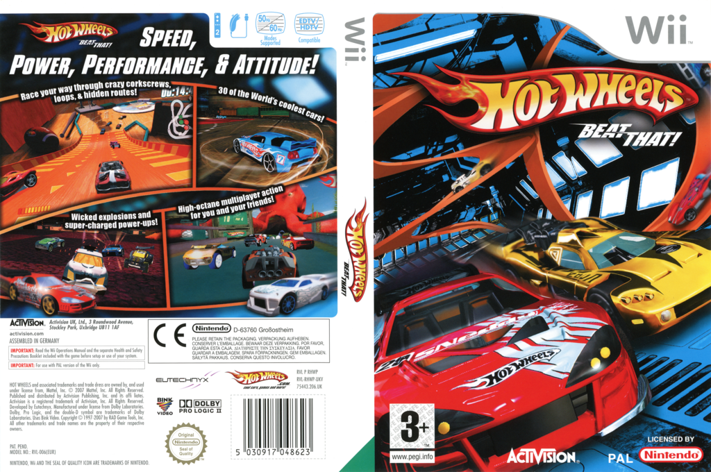 Hot Wheels: Beat That! Wii coverfullHQ (RHWP52)