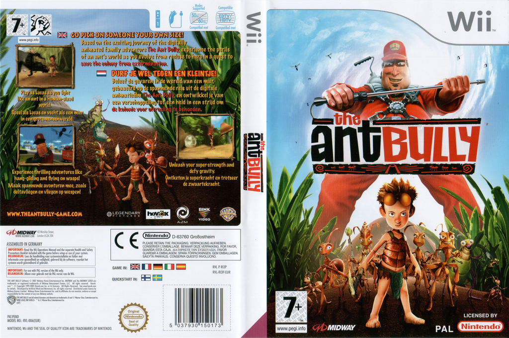 The Ant Bully Wii coverfullHQ (RI3P5D)