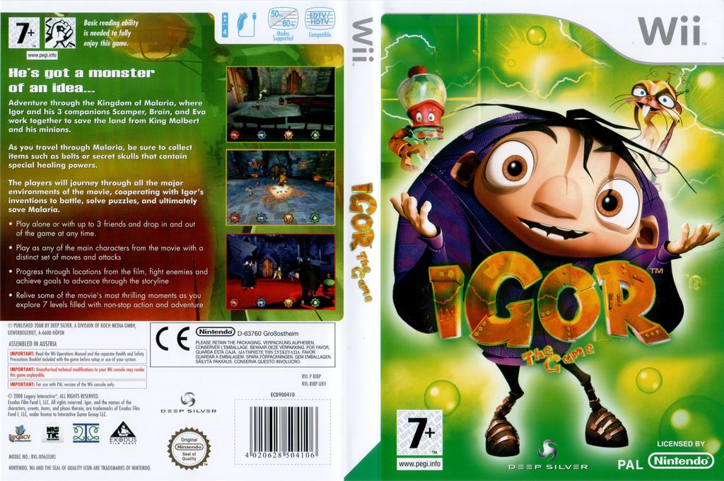 Igor: The Game Wii coverfullHQ (RIBPKM)