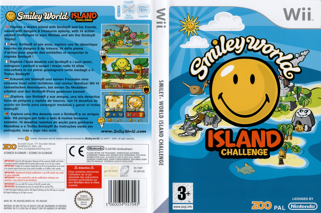 Smiley World: Island Challenge Wii coverfullHQ (RIDP7J)