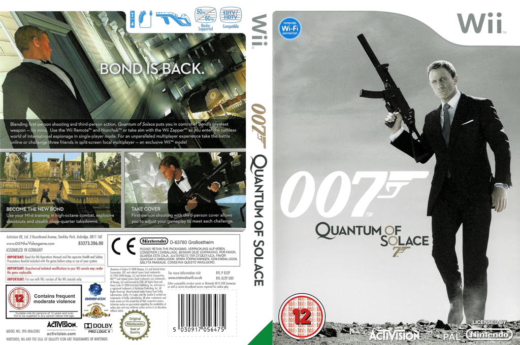 007: Quantum of Solace Wii coverfullHQ (RJ2P52)