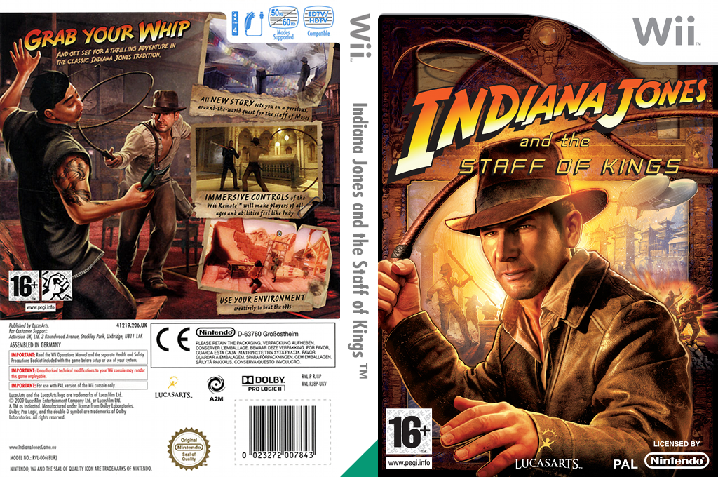 Indiana Jones and the Staff of Kings Wii coverfullHQ (RJ8P64)