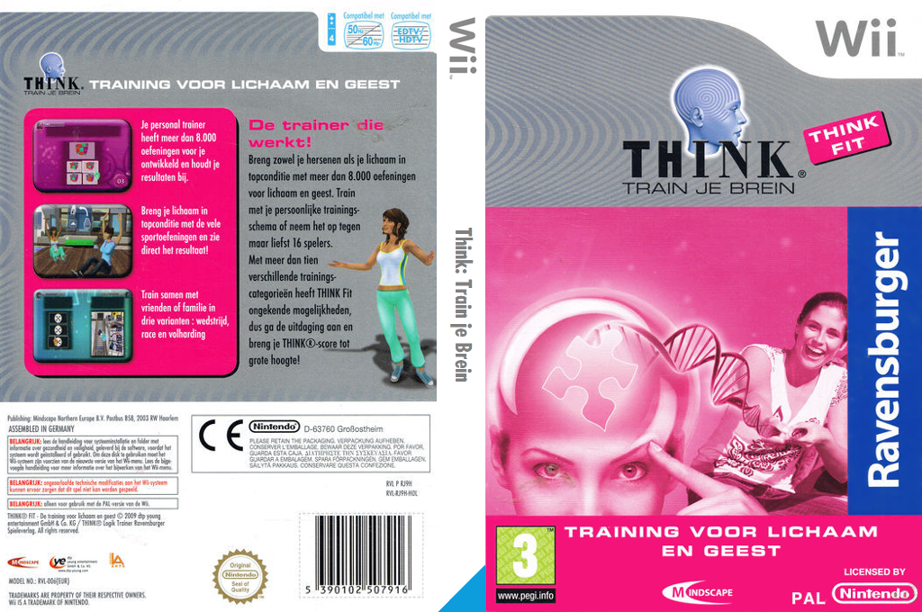 Think Logic Trainer Wii coverfullHQ (RJ9HMN)