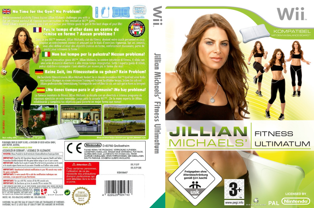 Jillian Michaels' Fitness Ultimatum 2009 Wii coverfullHQ (RJFPKM)