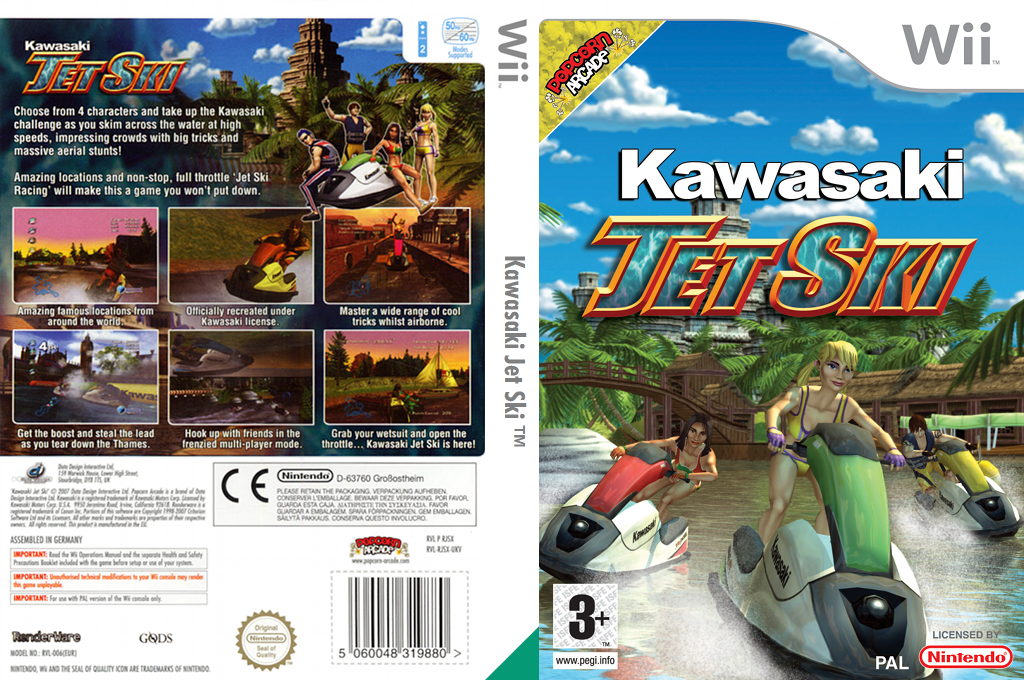 Kawasaki Jet Ski Watercraft Wii