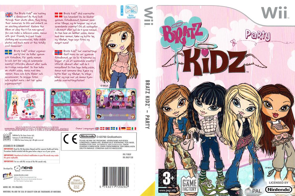 Bratz: Kidz Party Wii coverfullHQ (RKGPGY)