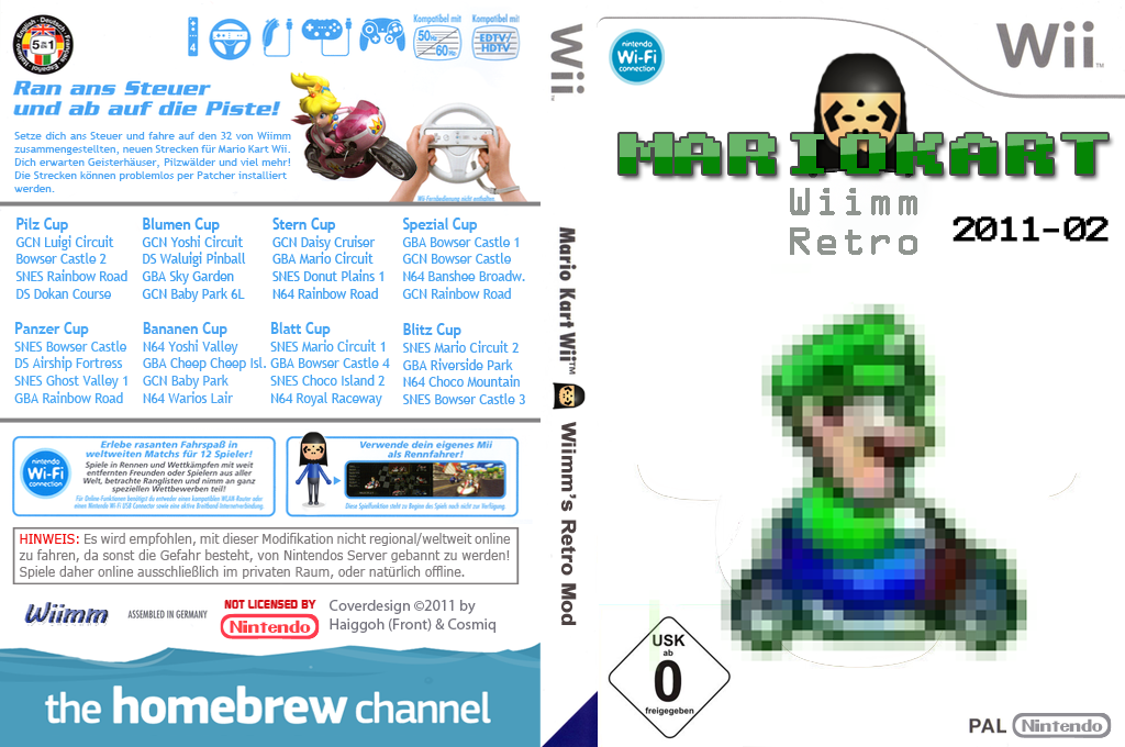 Wiimms MKW Retro 2011-02.pal Wii coverfullHQ (RMCP07)