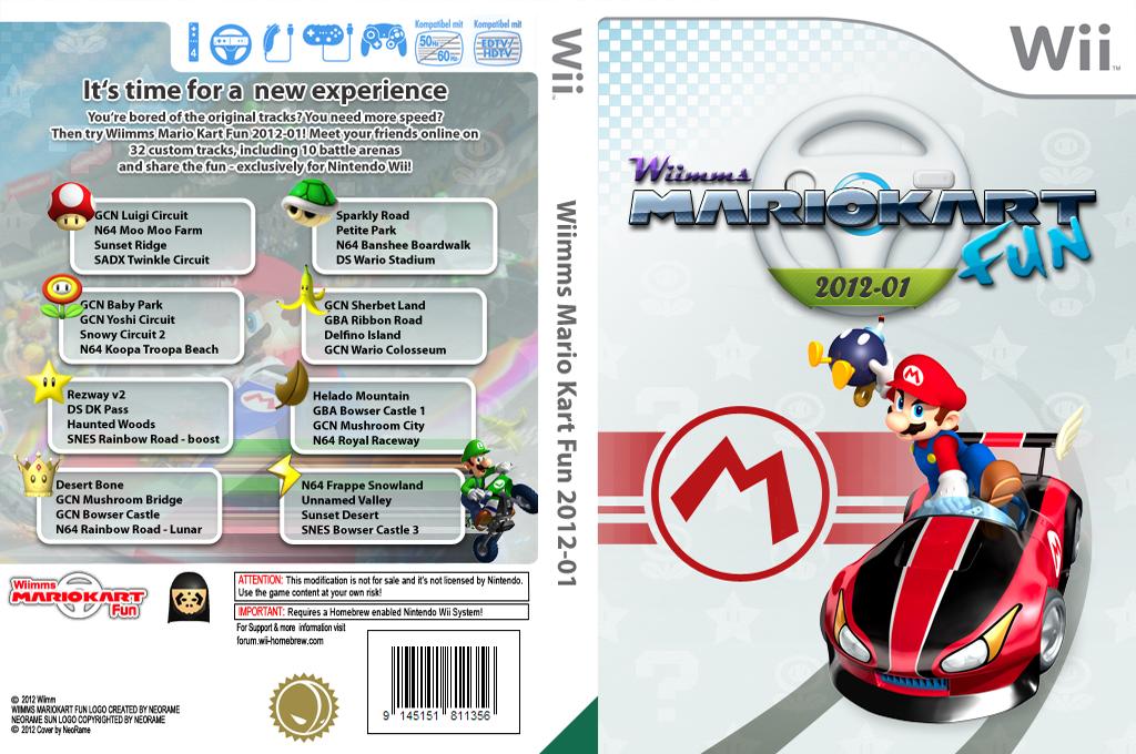 Wiimms MKW Fun 2012-01.pal Wii coverfullHQ (RMCP13)