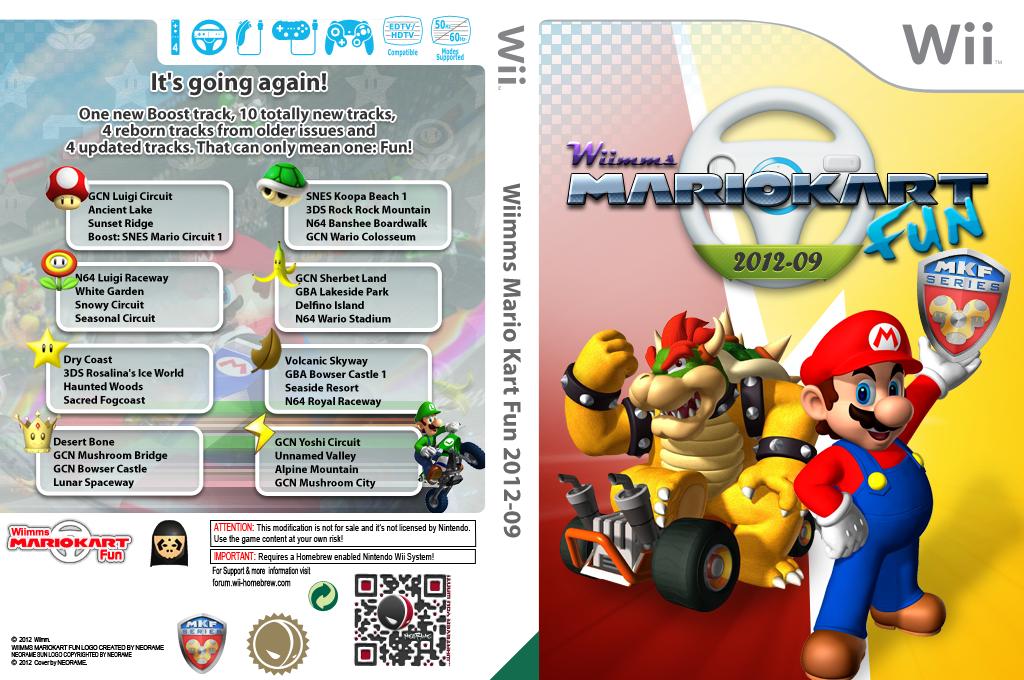Wiimms MKW Fun 2012-09.pal Wii coverfullHQ (RMCP17)