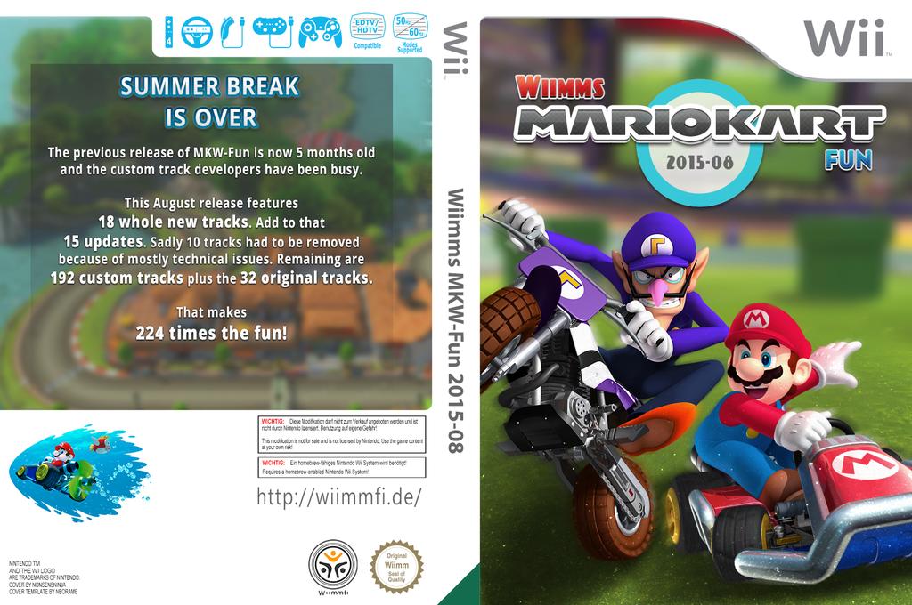 Wiimms MKW-Fun 2015-08.pal Wii coverfullHQ (RMCP29)