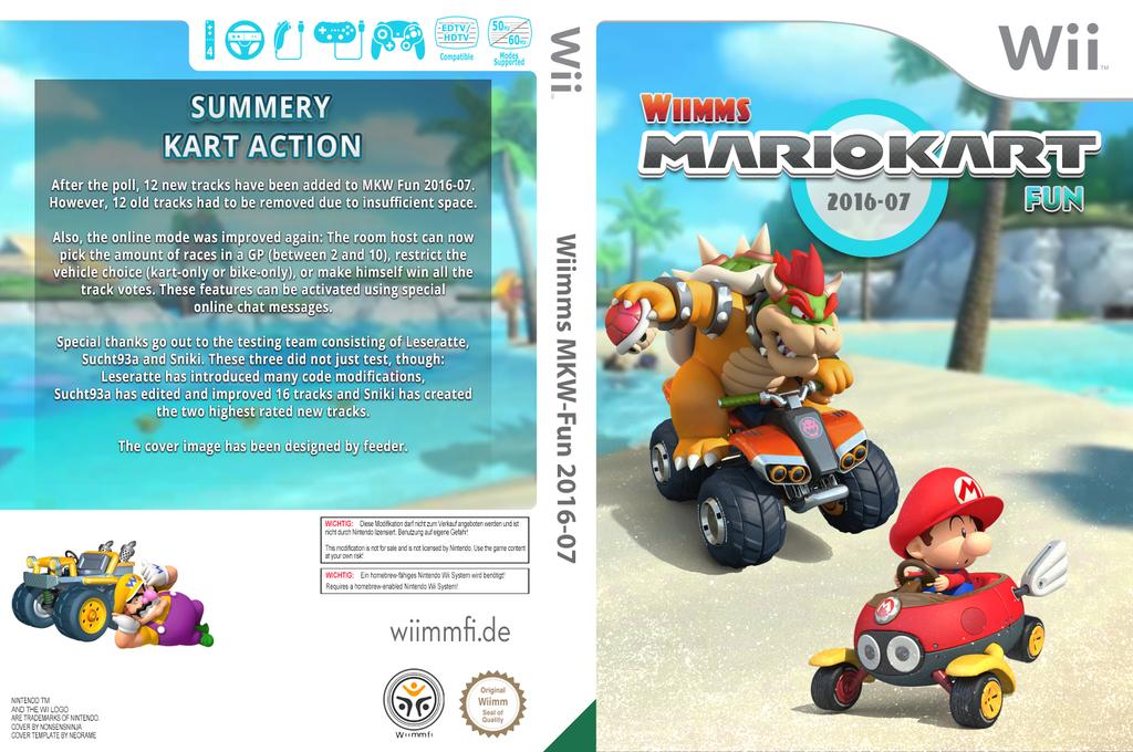 Wiimms MKW-Fun 2016-07.pal Wii coverfullHQ (RMCP32)
