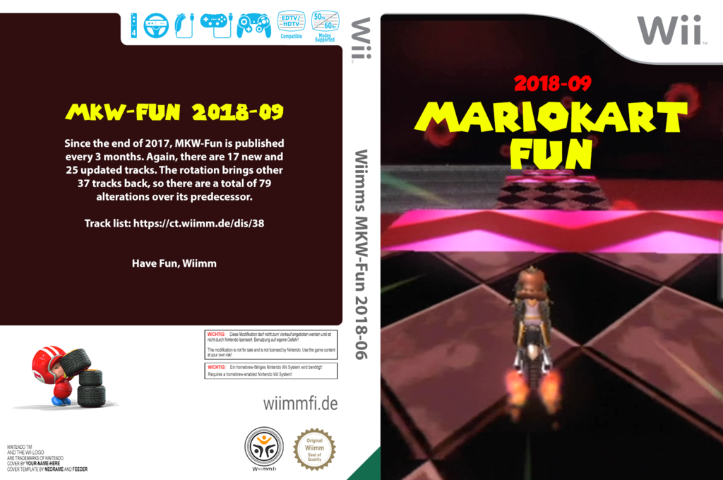 Wiimms MKW-Fun 2018-09.pal Wii coverfullHQ (RMCP38)
