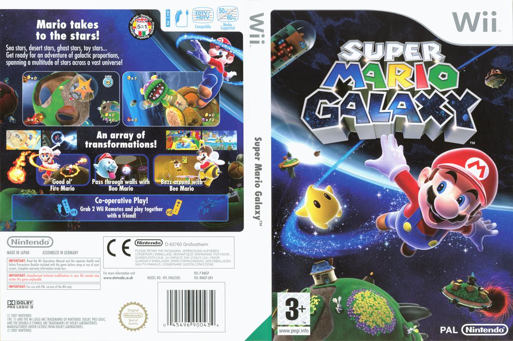Super Mario Galaxy Wii coverfullHQ (RMGP01)