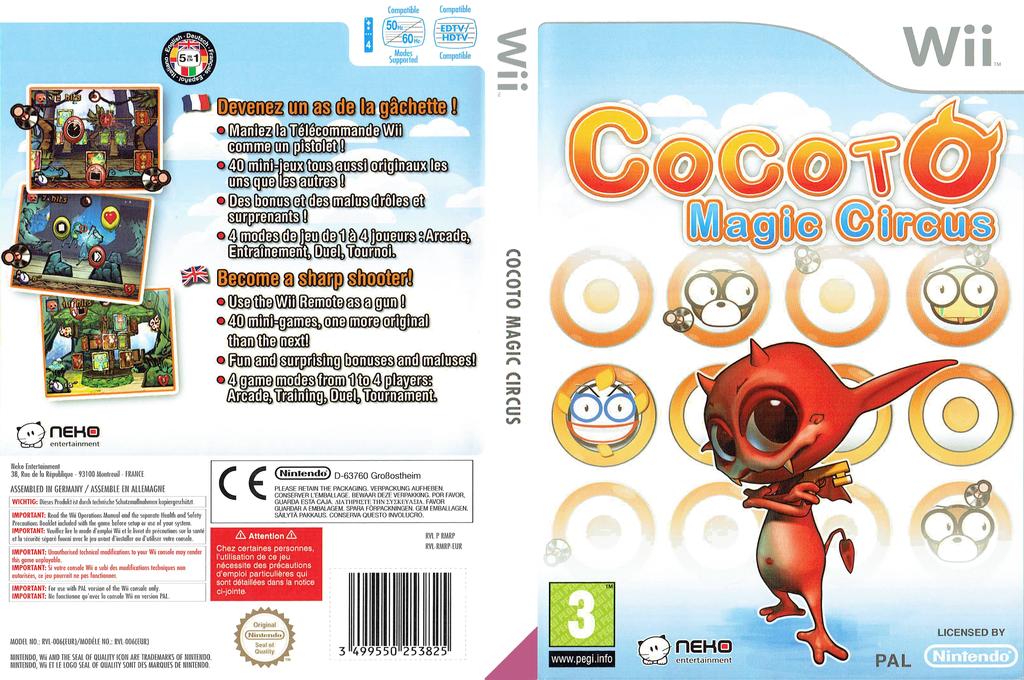 Cocoto Magic Circus Wii coverfullHQ (RMRPNK)