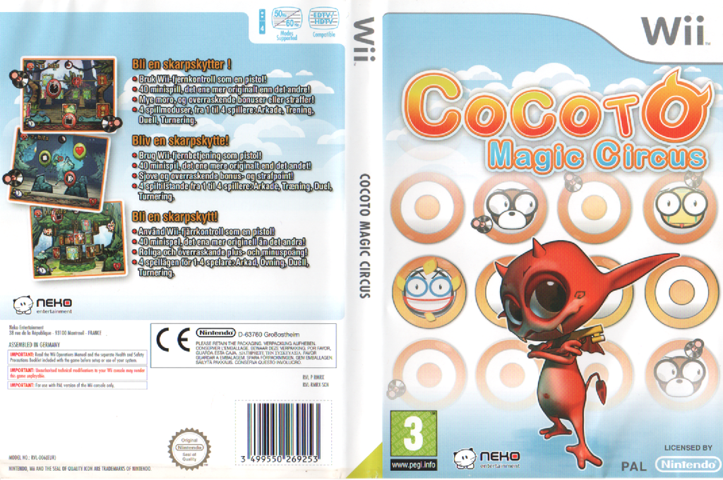 Cocoto Magic Circus Wii coverfullHQ (RMRXNK)