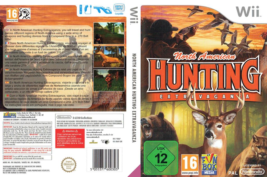 North American Hunting Extravaganza Wii coverfullHQ (RN6P7J)