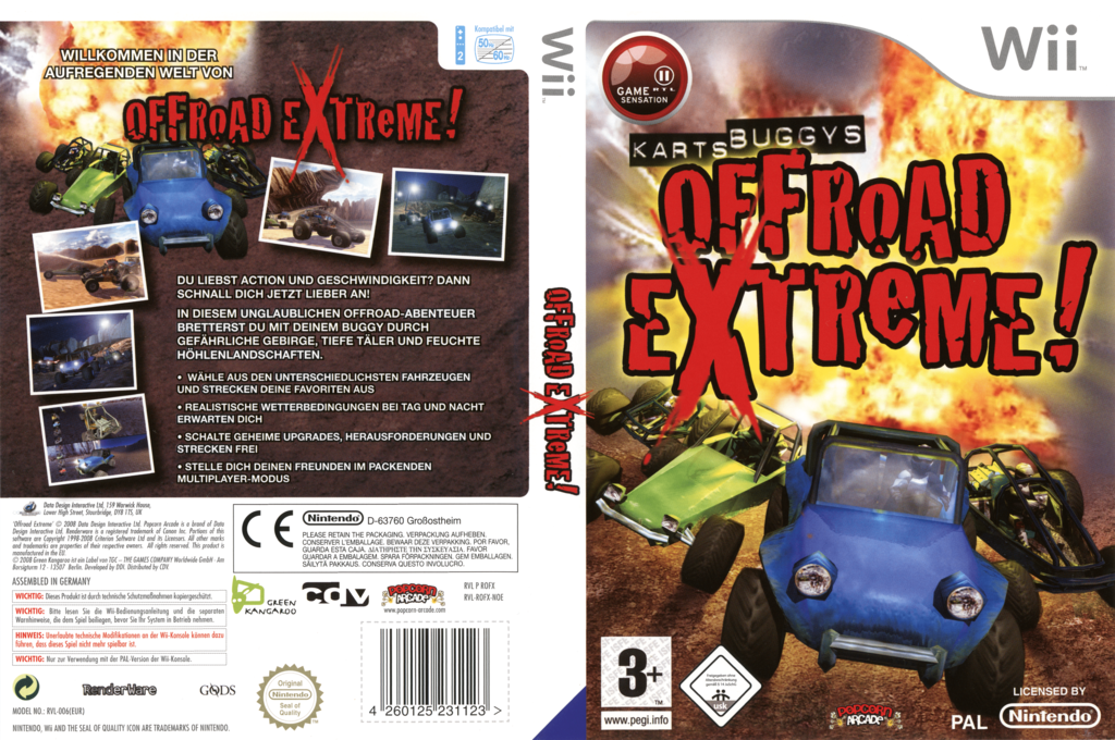 Offroad Extreme! Wii coverfullHQ (ROFXUG)