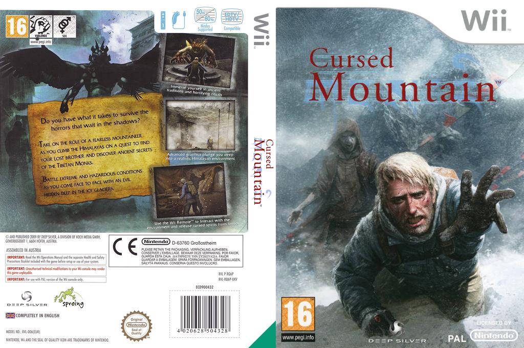 Cursed Mountain Wii coverfullHQ (RQ6PKM)