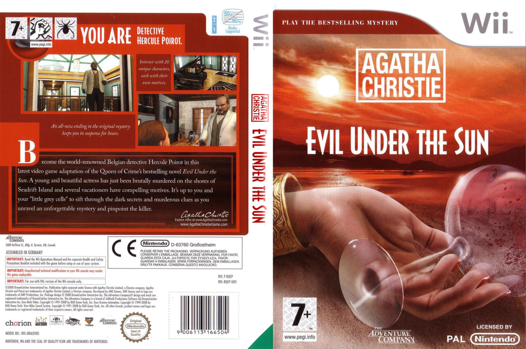 Agatha Christie: Evil Under the Sun Wii coverfullHQ (RQEP6V)