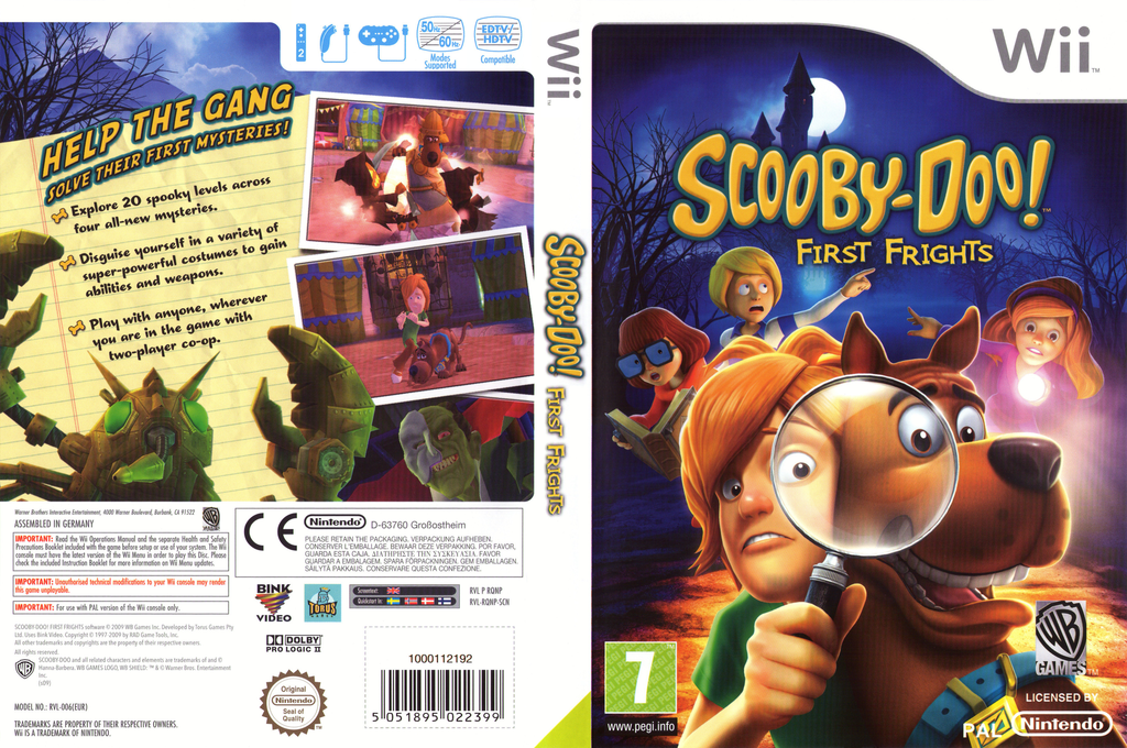 Scooby-Doo! First Frights Wii coverfullHQ (RQNPWR)