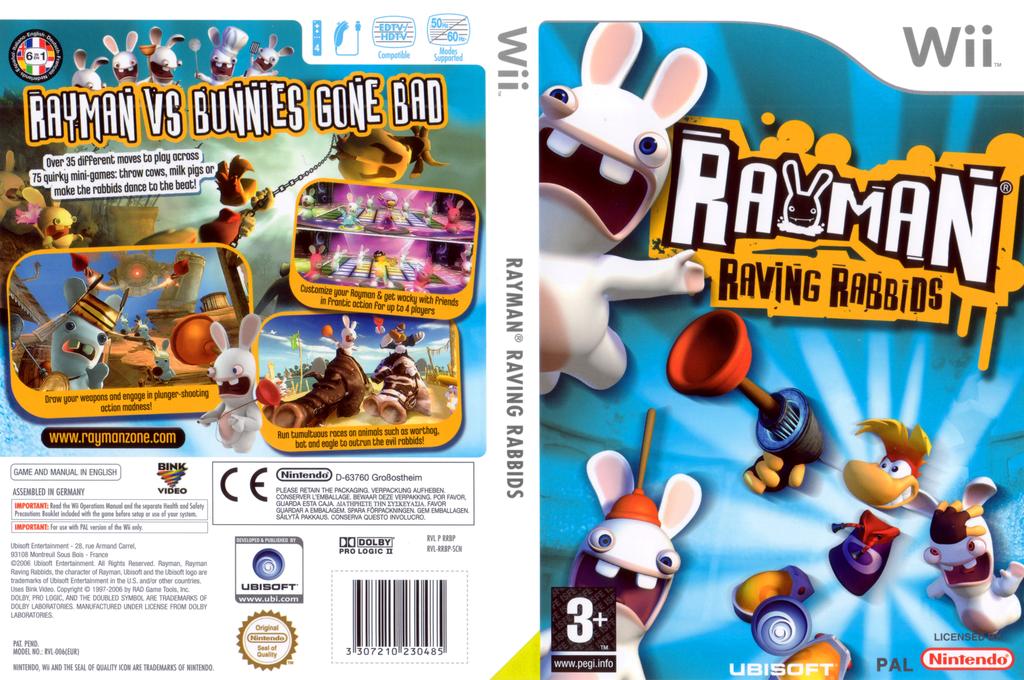 Rayman Raving Rabbids Wii coverfullHQ (RRBP41)